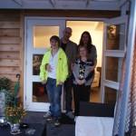 Alex en Yvonne Boerboom met kinderen